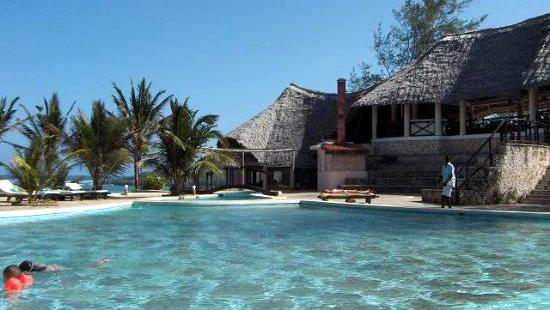 Watamu Beach Hotel, Kenya. Pool