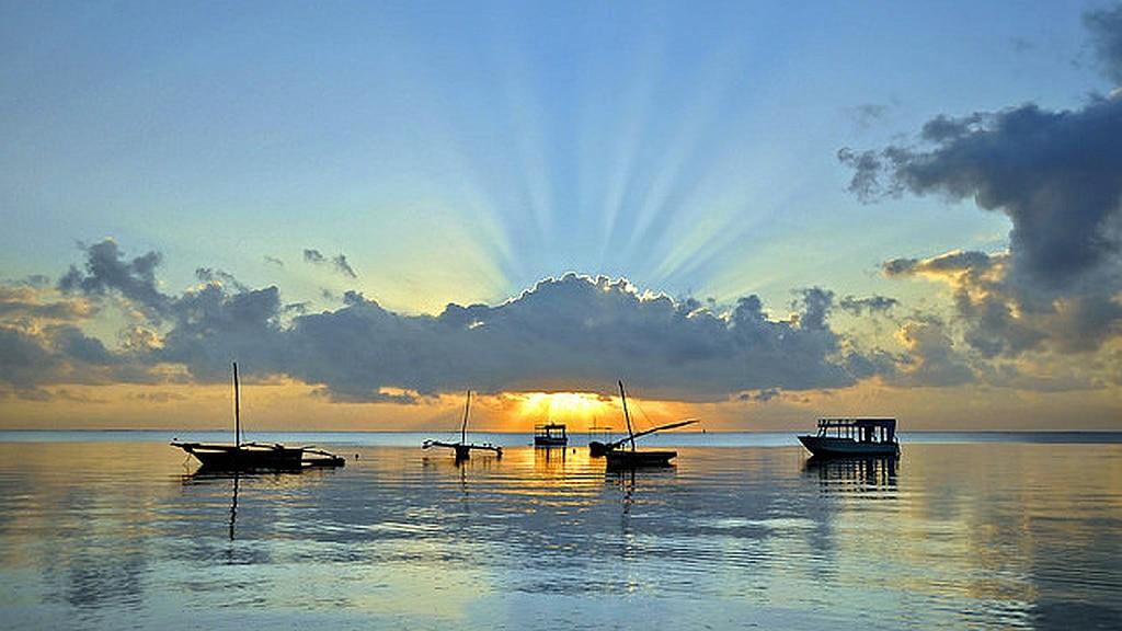 Bamburi Beach Sunset - Kenya