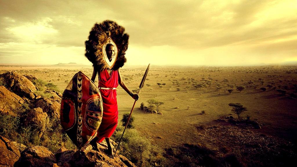 Masai Warrior - Kenya