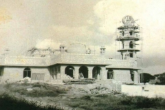 Jamia (Juma) Mosque under construction - Malindi (vintage photo)