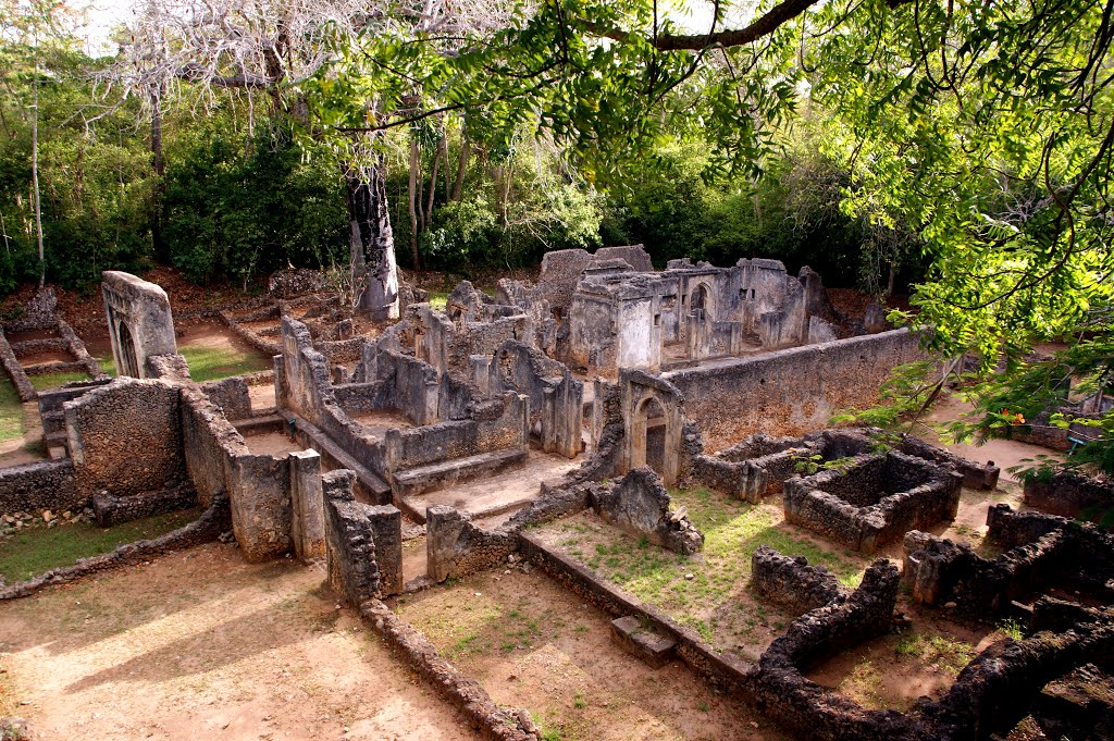 The ruins of Gede (Gedi), Malindi.