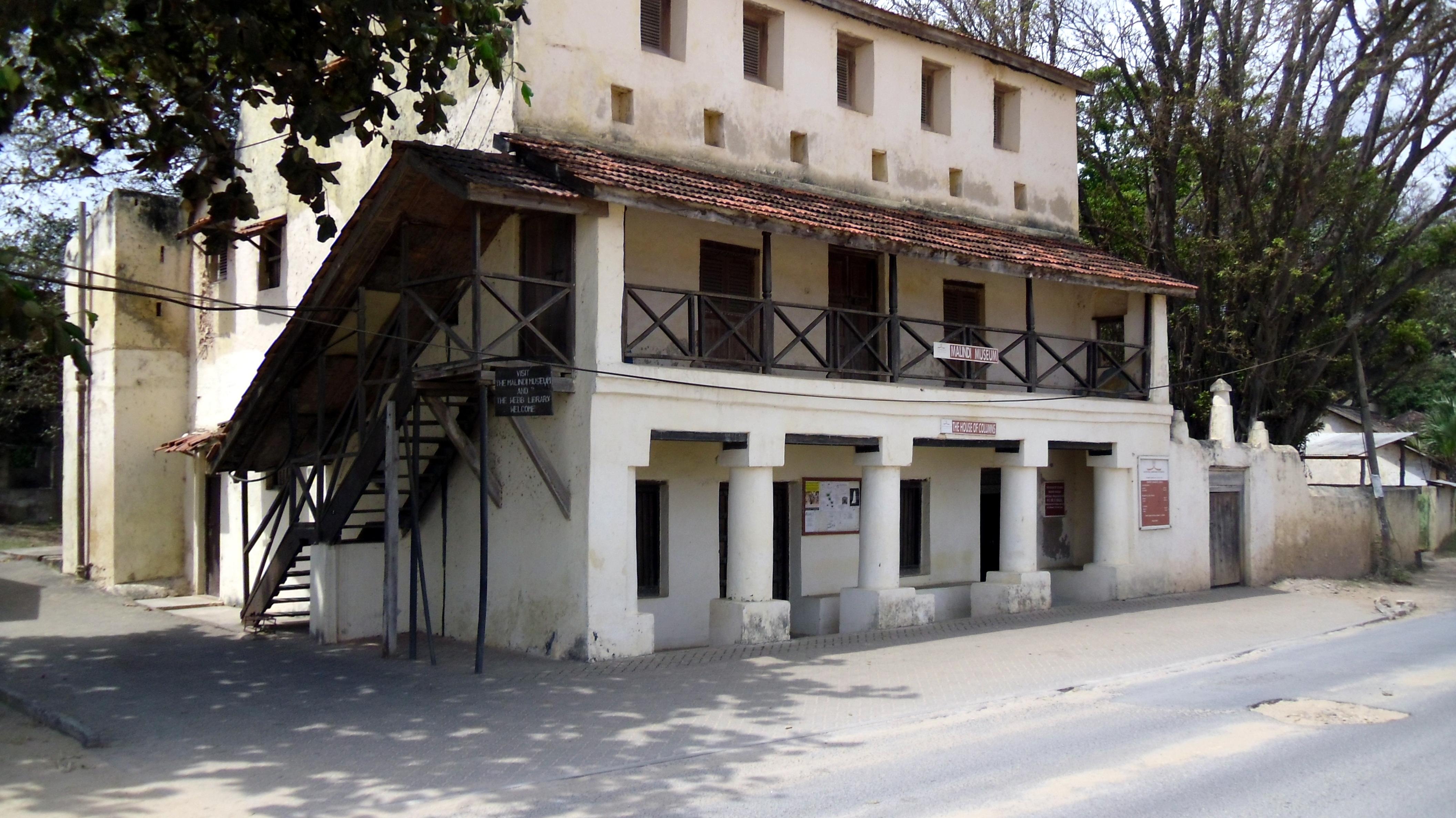 House of Columns and Malindi Museum.