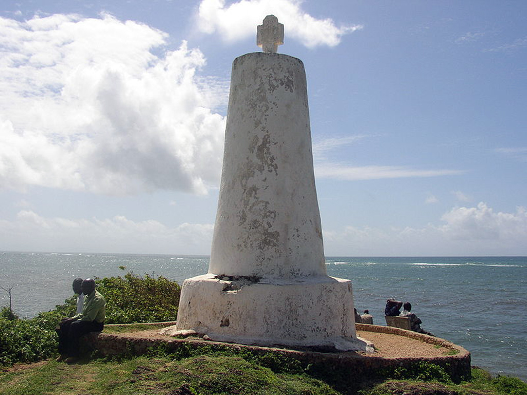 Vasco da Gama Pillar or Cruz Padrão, Malindi