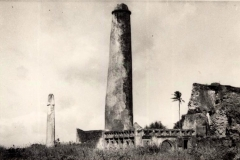 Pillar Tombs, Malindi (vintage photo).
