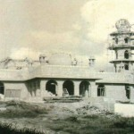 Jamia (Juma) Mosque under construction (vintage photo)