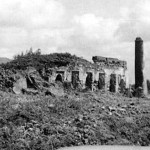 Pillar Tombs Malindi (vintage photo).