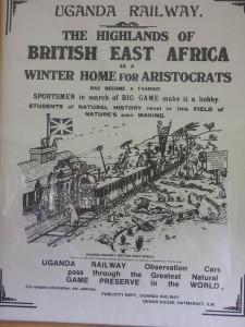 Uganda Railway flyer