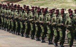 Paramilitary body of GSU
