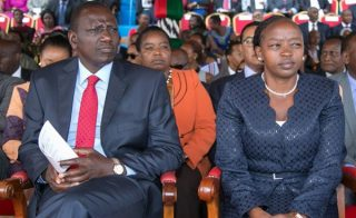 William Ruto with his wife Rachel