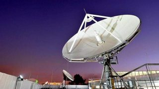 Kenya-DSTV satellite dish for reception of blacked channels