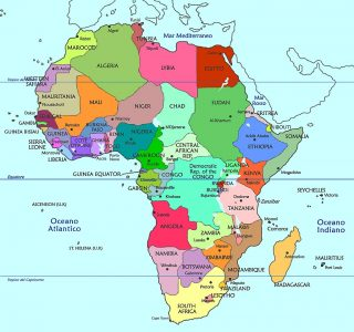 Africa-Political map