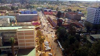 Aerial view of Eldoret-Kenya Holidays