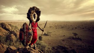 Kenya-Masai warrior