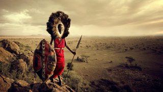Kenya-Masai warrior