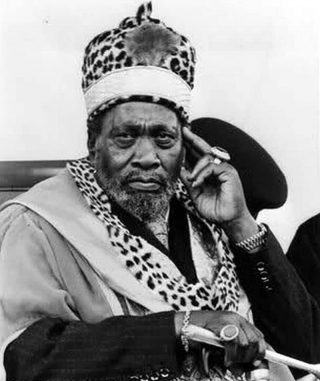 Johnstone Kamau better known as Jomo Kenyatta