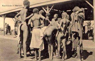 Kavirondo at the market-Kenya Holidays