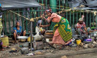 Life on a street in Mombasa-Kenya Holidays