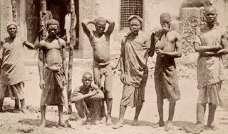Slavery Est Africa-Photo was token in the 1890s-KenyaHolidays